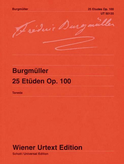 25-Etudes-op-100-Edited-from-the-first-edition-Burgmueller-Friedrich-Urtext-p